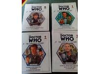 Doctor Who - The Complete History - 4 volumes (slightly damaged)