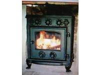 Bernard Davis Brightview Wood burning Stove