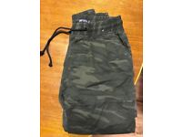 Mens Cargo Combat Trousers/pants Army Military Camo Camouflage