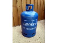 FULL 15kg Butane gas bottle