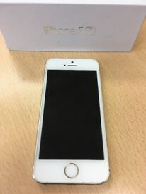 White I Phone 5 s 16GB