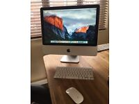 """IMAC 20"""" WITH GENUINE APPLE WIRELESS KEYBOARD AND MOUSE"""