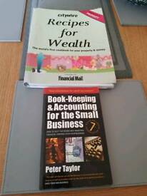 Investment Books.