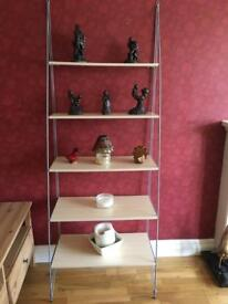 Ikea display/shelving (light beech)