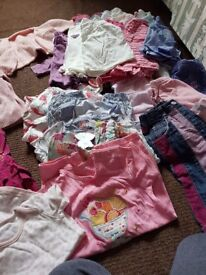 Baby girls clothes size 3-6 months