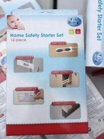 Joblot 16 piece home safety starter set 22 boxes!! Bargain, clearance baby infants