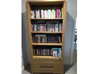 Bookcase- hygena strand oak effect