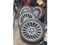 """Mercedes 18"""" alloys 5x112"""