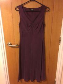 Beautiful purple Hobbs dress