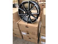 "4 19"" alloy wheels alloys rims tyre tyres vw Volkswagen seat Skoda audi 112 caddy"
