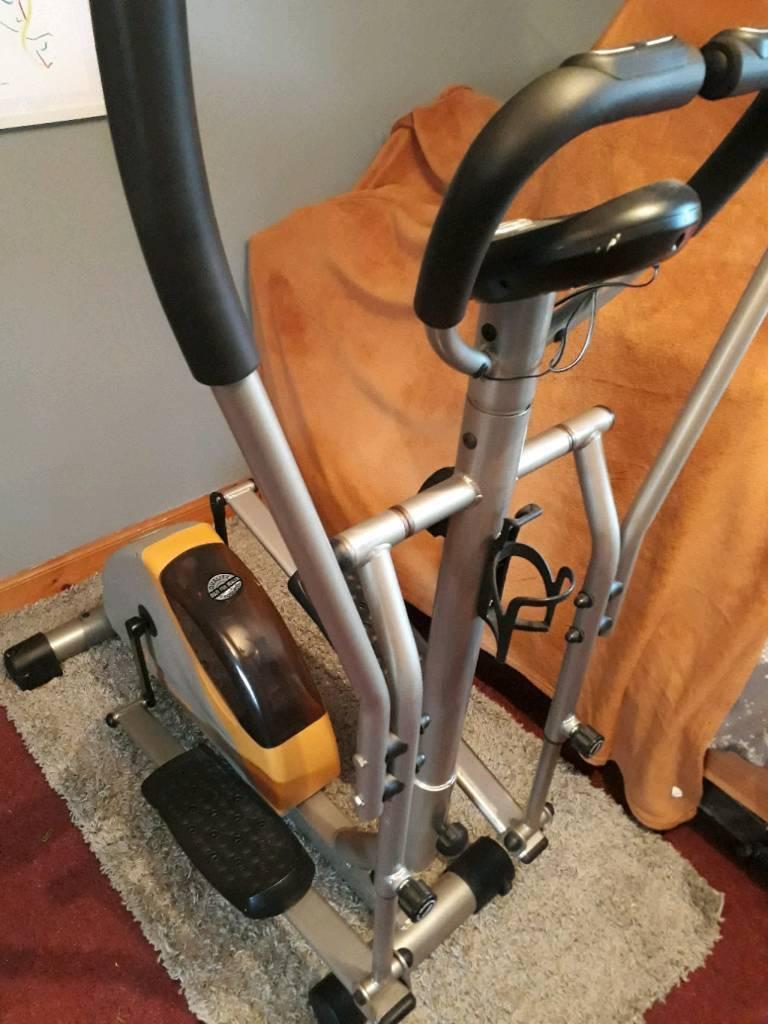Cross trainer elliptical jk exer nuwave home gym in