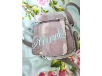 ANIMAL canvas across the shoulder mini satchel bag