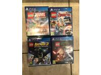 Lego PS4 games £12 each of all £40