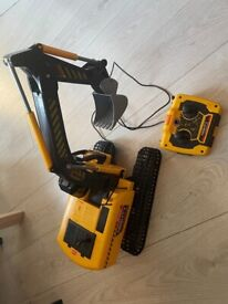 Remote Control Digger Toy