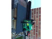 Qualcast petrol chainsaw