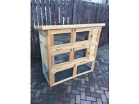 Rabbit/ Guinea pig hutch cage house