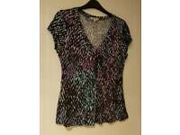 Ladies T - Shirt by M & Co - VGC - Size 14