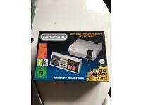 Nintendo entertainment system..original 30 pre installed games +170 extra games