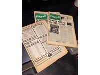 1970s football programs
