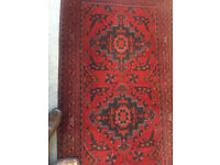 Perfect Condition 2 Meter Afghani Handmade Rug