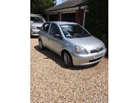 Toyota Yaris 2003 VERY LOW MILEAGE