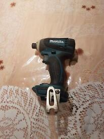 Makita BTD146 Cordless Drill (Body Only) ,good working