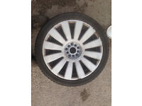 "vw audi most german cars 19"" alloys 8 studs RS8"