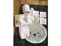 George Snuggle Bunny Nursery Set