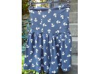 Ladies ASOS anchor-print playsuit for sale