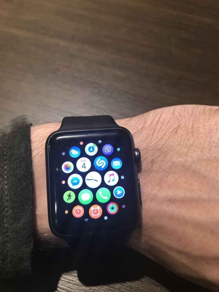 Apple Watch, 42mm, 1 st Generationin Downham Market, NorfolkGumtree - Apple Watch, 1st generation, have it for over a year. Perfect working order. Small few mm mark on top left hand glass corner not visible in day to day wear. No box, just watch and charger. £120 cash. No offers whatsoever. Can deliver within 30 miles...