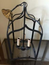 Chelsom rustic brown interior lantern