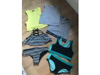 Girls summer bundle River Island H and M age 8
