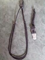 small knife with paracord lanyard and paracord neck attachment