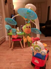 Tiny Love Soothe and Groove Cot Mobile - in great condition