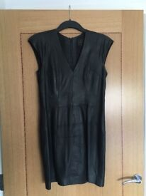 French Connection leather dress size 12