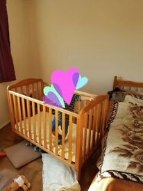 Buggie and cot bed
