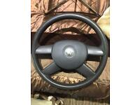 Vw golf mk5 steering wheel