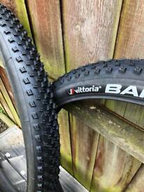 2x Brand New Vittoria Barzo Tyres