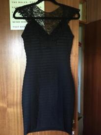 Rubbed black dress size 8