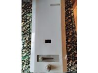 Bosch W135 KB gas fired instantaneous water heater, very good clean condition, perfect working order