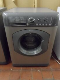 """""""Hotpoint"""" Grey Washing machine.. 8kg..Spin-1400...For sale..Can be delivered."""
