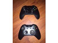 2x Xbox one controllers pads working but FUALTY