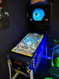 AWESOME FULL SIZE FUNHOUSE VIRTUAL PINBALL MACHINE PROJECT 80% COMPLETE
