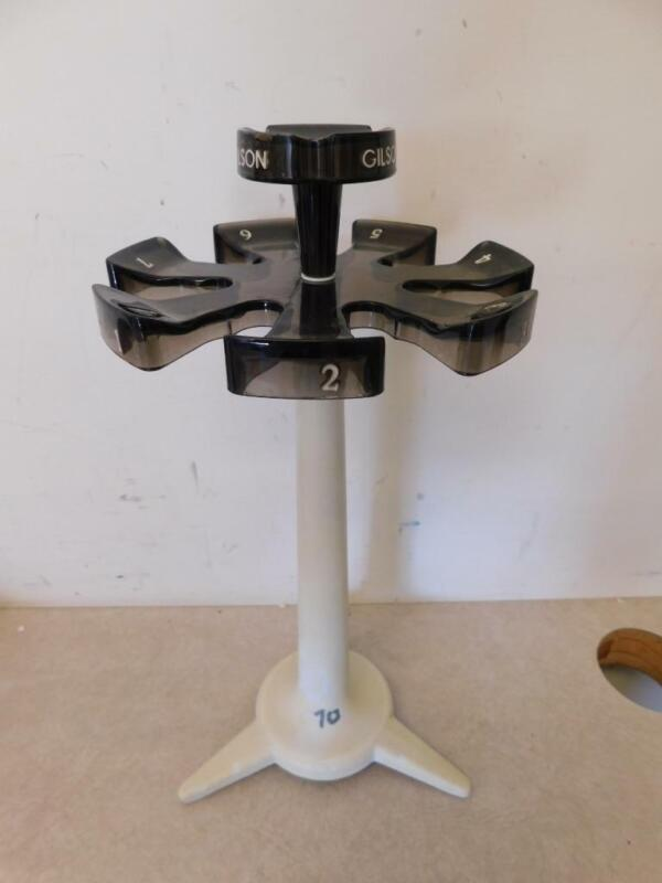 Gilson Pipette Carousel Stand- Holds 7 Pipettes