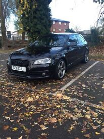 Audi A3 black edition -HUGE SPEC- S Line- 2011- 12 month MOT