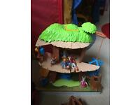 WANTED PETER RABBIT TREEHOUSE OR FIGURES