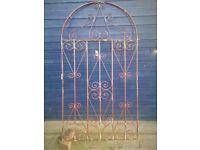 Garden Gate, Wrought Iron, Side / Rear, Patio , Gate, Very Decorative