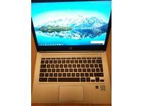 HP Chromebook 13 g1 - enterprise class super light laptop - highest spec'd model - m5 cpu + 8gb ram
