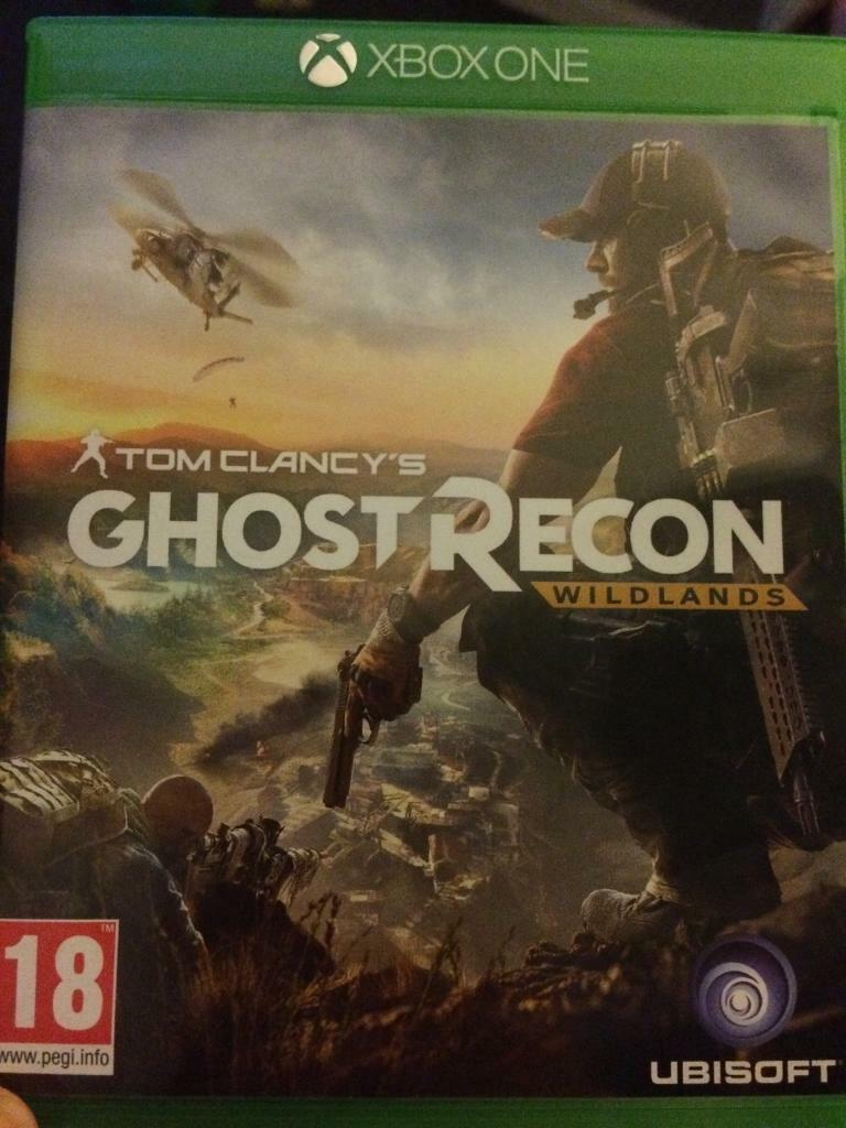 Xbox one tom Clancys ghost recon wild lands game