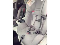 Joie car seat 7 stages available in grey and black